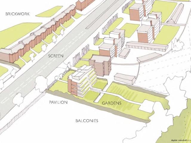 Aylmer Road sketch view